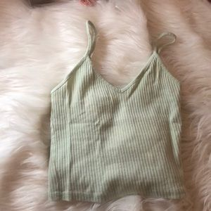 Neon green, tank top size US 2